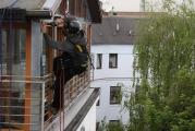 Gaube – Verkleidung Ständerwerk, Dachgeschoß in Falztechnik