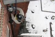 Montage Fallrohr/Wasserfangkasten